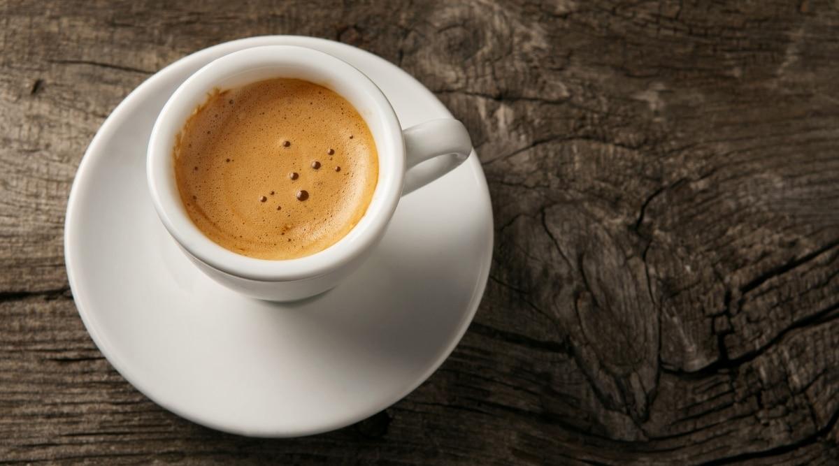 espresso in a cup