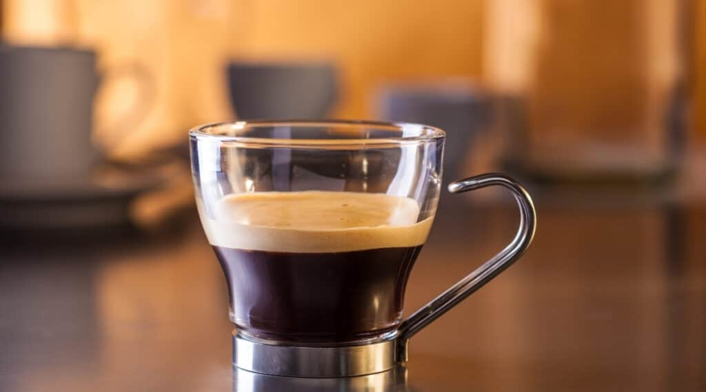 A ristretto shot ready for your coffee.