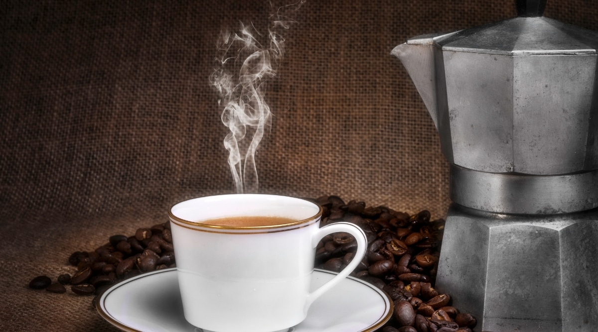 Percolator vs drip coffee.