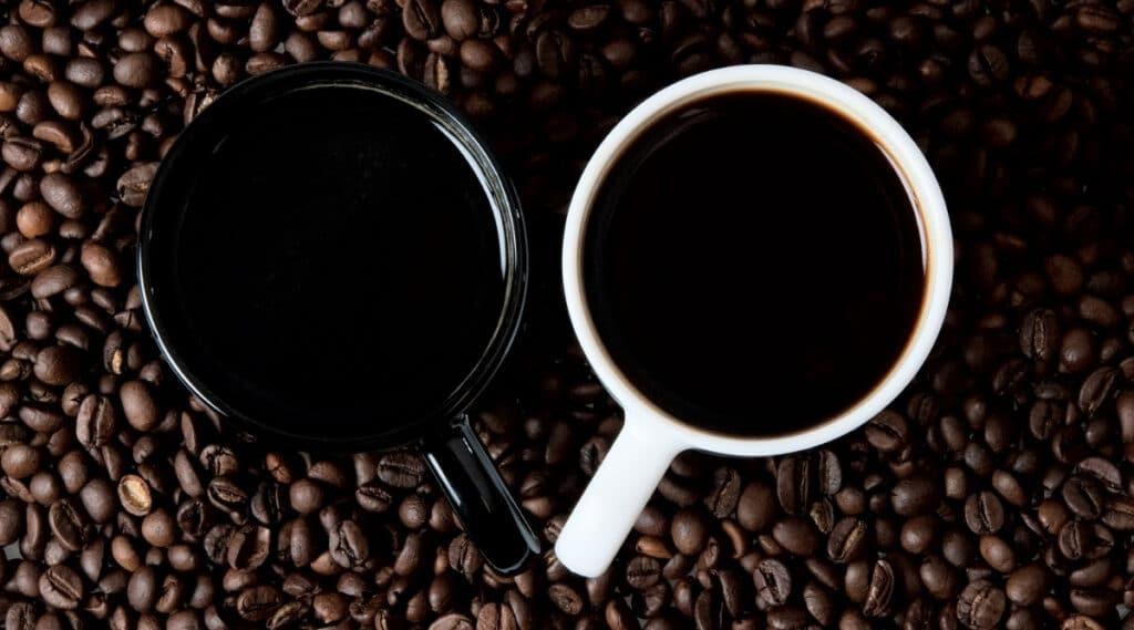 Keurig K-Mini coffee next to K15 coffee
