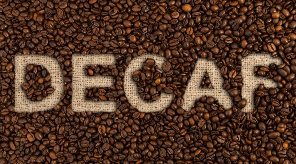 Decaf coffee is not a diuretic.