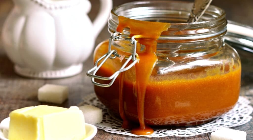 Caramel Macchiato ingredients.