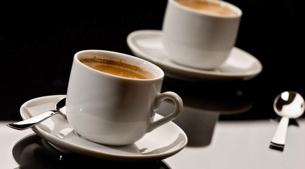 Espresso brewed by Nespresso's Inissia and Pixie.