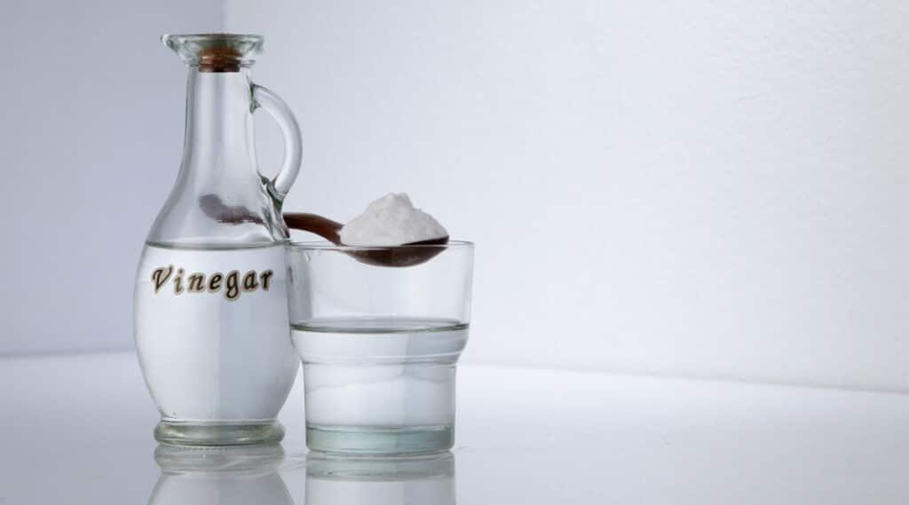 White Vinegar used to clean the Ninja Coffee Bar.