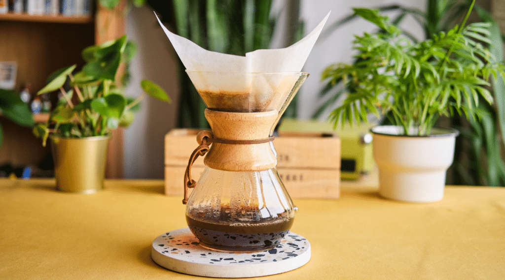 Brewing with a Chemex has many benefits!