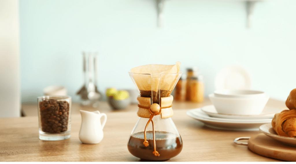 Chemex brews a clean, intense cup of coffee.