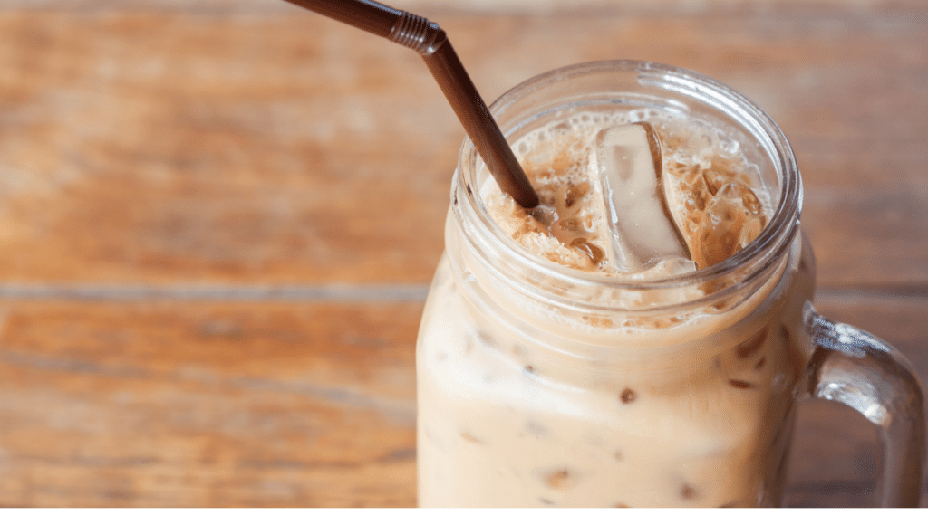 It is easy to make delicious iced coffee drinks with a Nespresso.
