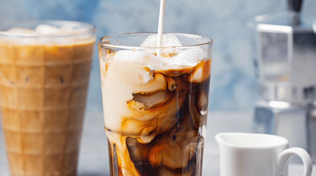 An Iced Latte is an easy and delicious drink you can make with your Nespresso.