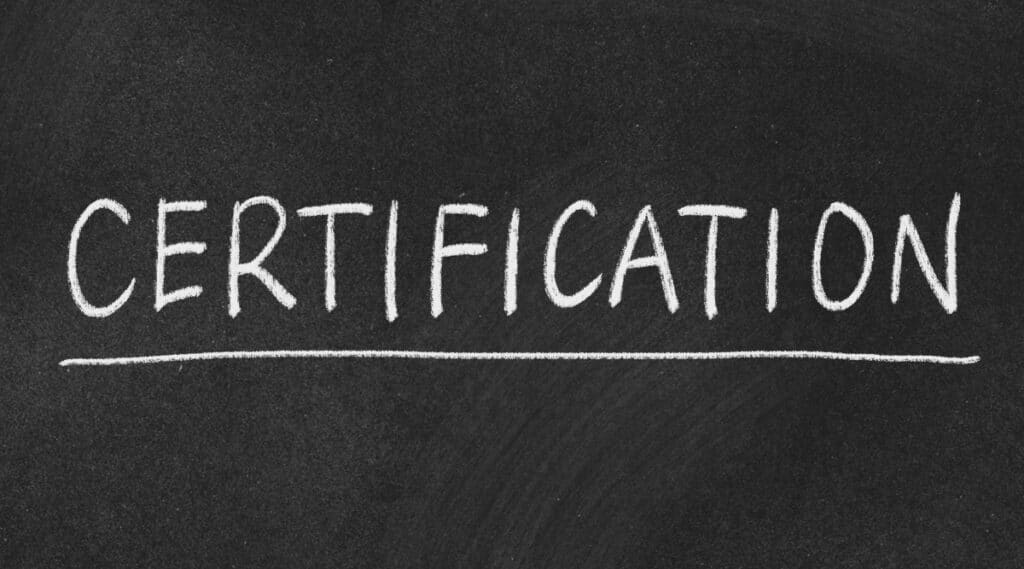 A seal of certification is used to verify your coffee is authentic.