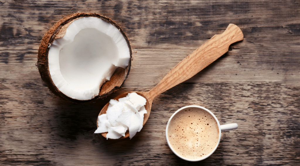 For an iced mocha with a tropical twist, try coconut milk.