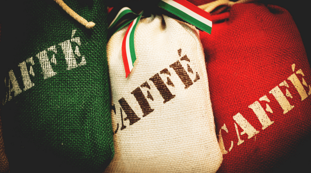 Lavazza coffee is a popular brand all over the world.