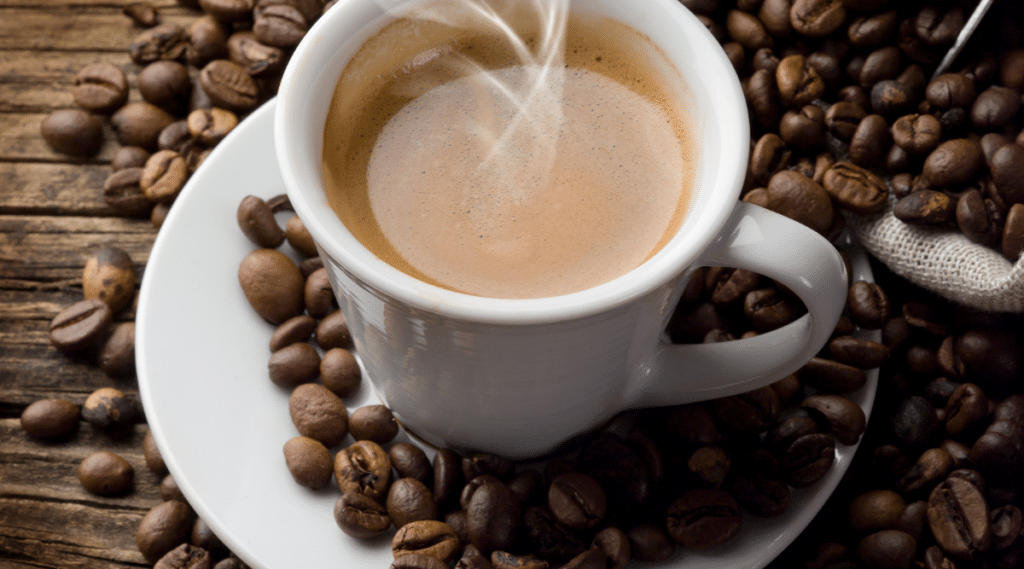 The heat when grinding coffee beans can affect the flavor of  your drink.